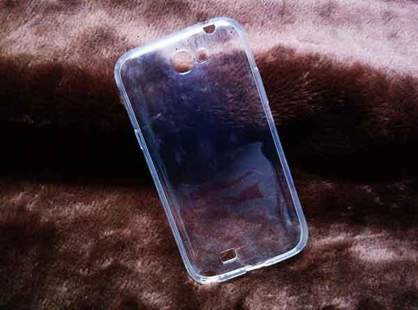 case Samsung Note2 ยางใส