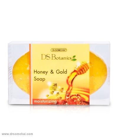 สบู่น้ำผึ้งและทองคำบริสุทธิ์ 80 g