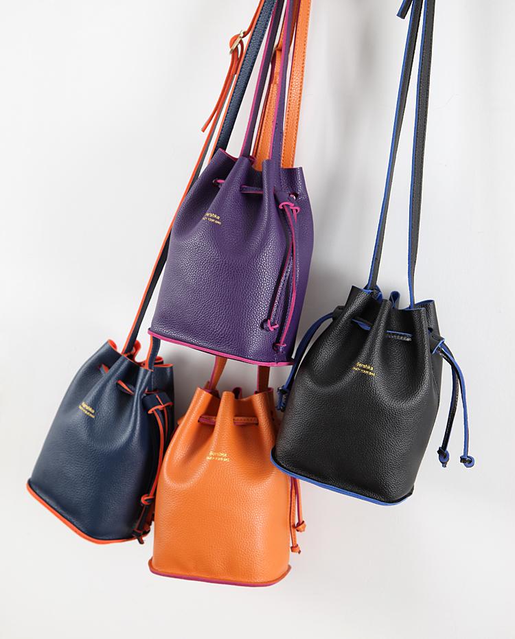 (Pre-order) กระเป๋าเก๋ๆมาอีกแล้วค่ะ Bershka mini leather bucket bag