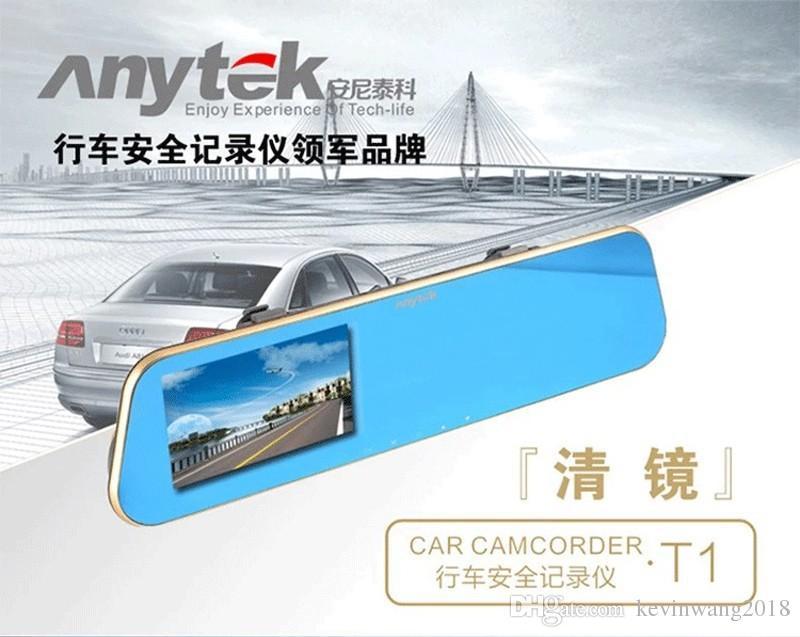 Anytek กล้องติดรถยนต์ รุ่น T1 กล้องหน้า-หลัง (WDR)
