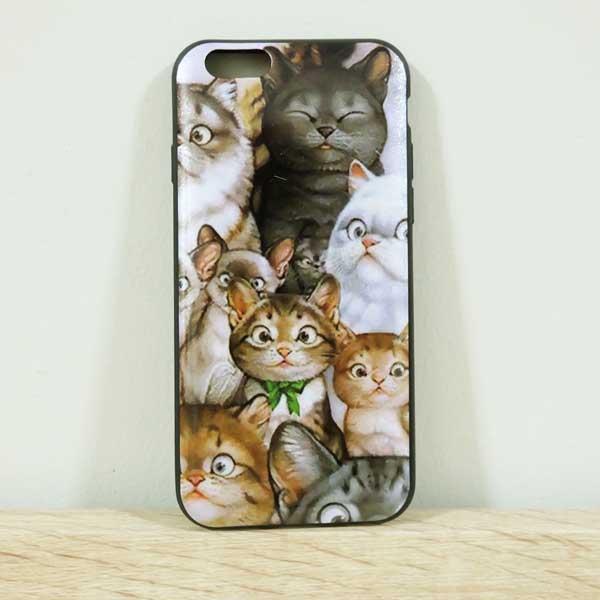 เคสไอโฟน 6/6s เคสยาง เคสไอโฟนลายแมว