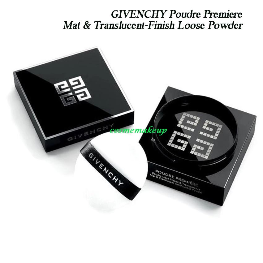 (ลด48%) GIVENCHY Poudre Premiere Mat & Translucent-Finish Loose Powder สี univeral nude ขนาดขายจริง 16g. มาพร้อมกับพัฟไมโครไฟเบอร์ ของแท้ แป้งฝุ่นเนือ้แมท เฉดสีเดียวก็สามารถกลมกลืนเข้ากับสีผิวทุกเฉดสีของผู้หญิงทั่วโลก เนือ้แมื เบา แต่ให้ความเรียบหรู