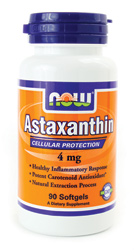 Now Foods - Astaxanthin 4 mg 90 Softgels