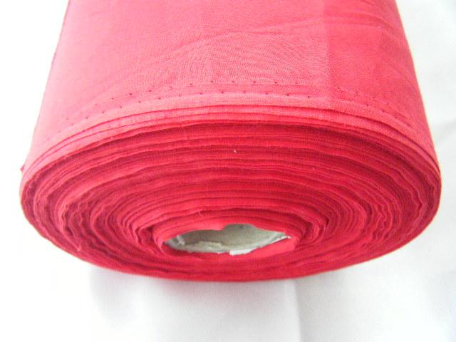 ผ้ามัสลินสีแดง