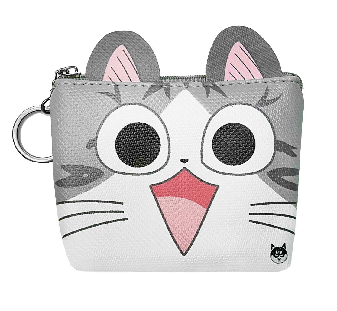 กระเป๋าใส่เหรียญแมวจี้