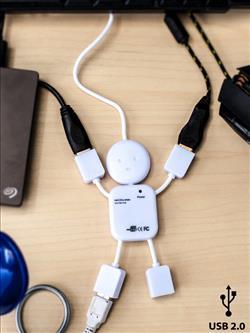 USB คน 4 พอร์ท