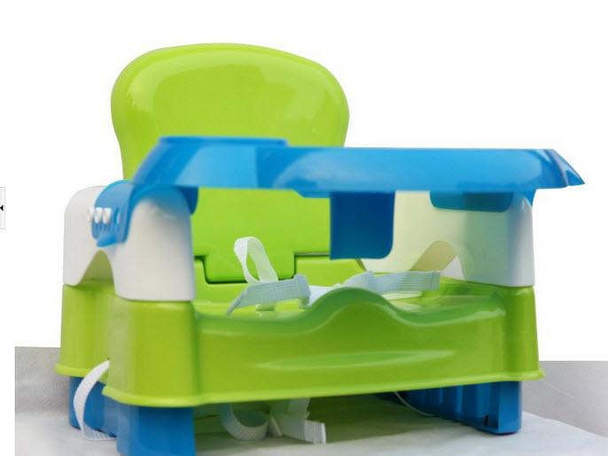 สีเขียว4เก้าอี้ทานข้าว วัสดุคุณภาพดี ใช้ได้ถึง 4 ปี ทำความสะอาดง่าย พกพาไปทานข้าวนอกบ้าน ไม่ต้องง้อเก้าอี้เด็กร้านอาหาร (ขนาดตามภาพสีชมพูนะคะ)