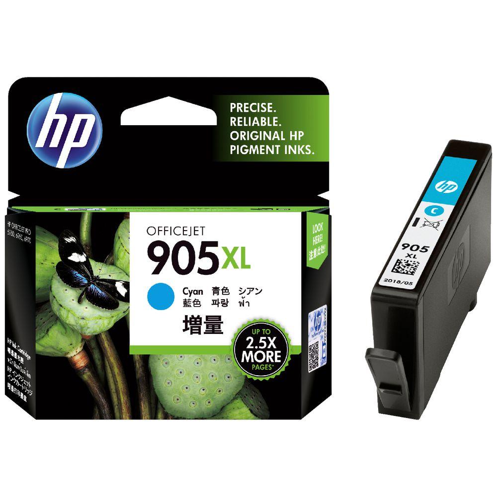 HP 905XL INK CYAN สีฟ้า