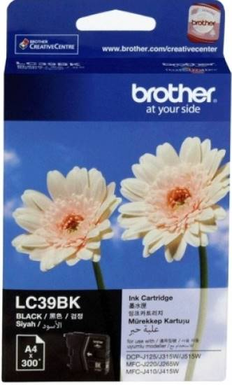 BROTHER INK CARTRIDGE LC-39BK สีดำ