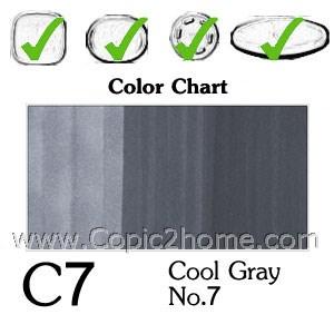 C7 - Cool Gray No.7