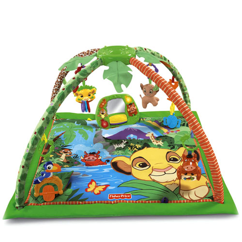 ที่นอนเด็ก Fisher-Price Disney Baby Simba's King-Sized Play Gym