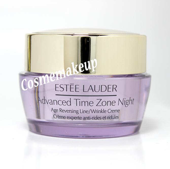 เครื่องสำอาง Estee Lauder NEW ! Advanced Time Zone Night Age Reversing Line/Wrinkle Creme 15ml(ขนาดทดลอง) ครีมบำรุงผิวหน้าสำหรับกลางคืน