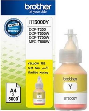 BROTHER INK BOTTLE BT-5000Y สีเหลือง