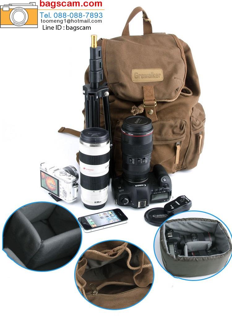 กระเป๋ากล้อง grewalker F5