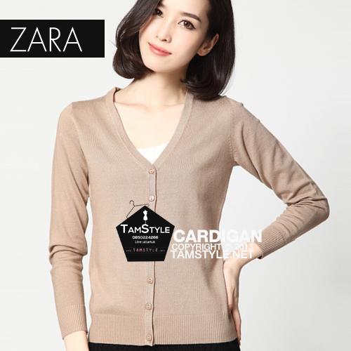 """Free size เสื้อคลุมแขนยาวZara สีครีมอ่อน ผ้านิ่มมากกก อันนี้ นำเสนอ จ้า สวยใส่สบาย อก 36"""" ยาว 23"""" (เสื้อคลุมพร้อมส่ง)"""