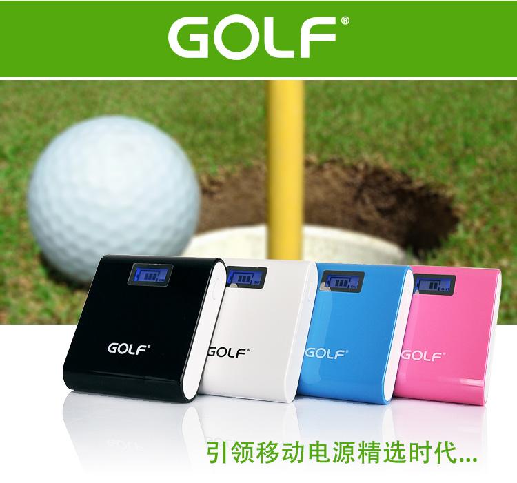 Powerbank - Golf GF-LCD03 7800 mAh