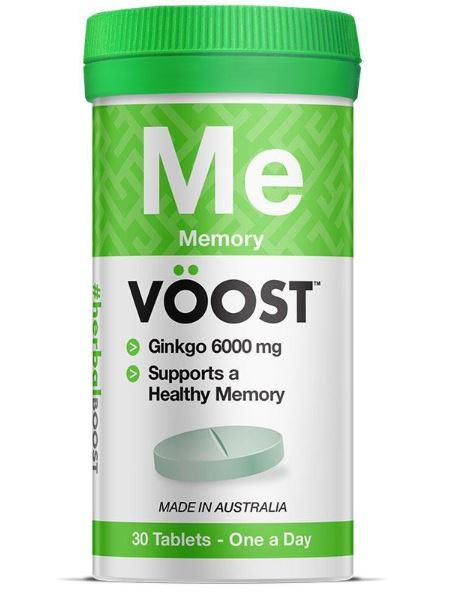 Voost Memory Ginkgo 6000 มิลลิกรัม จำนวน 30 เม็ด