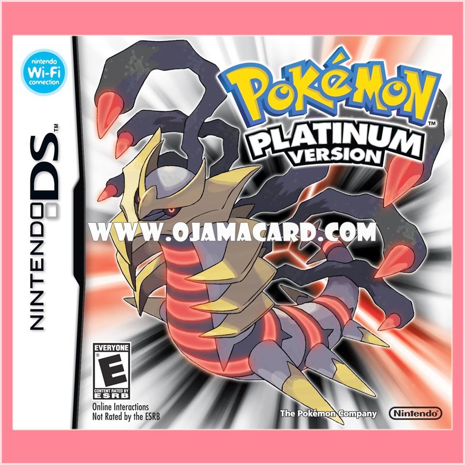 Pokémon Platinum Version for Nintendo DS (US) 95%