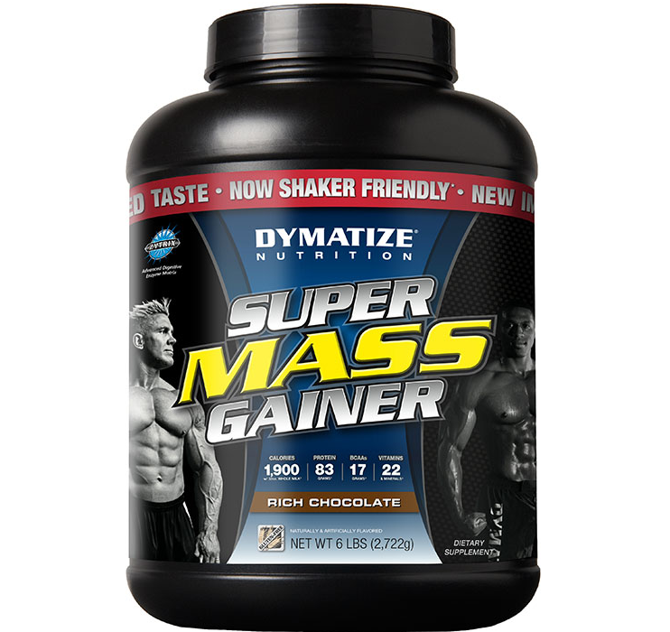 Dymatize Supermass Gainer 6ปอนด์ รสคุ๊กกี้แอนด์ครีม