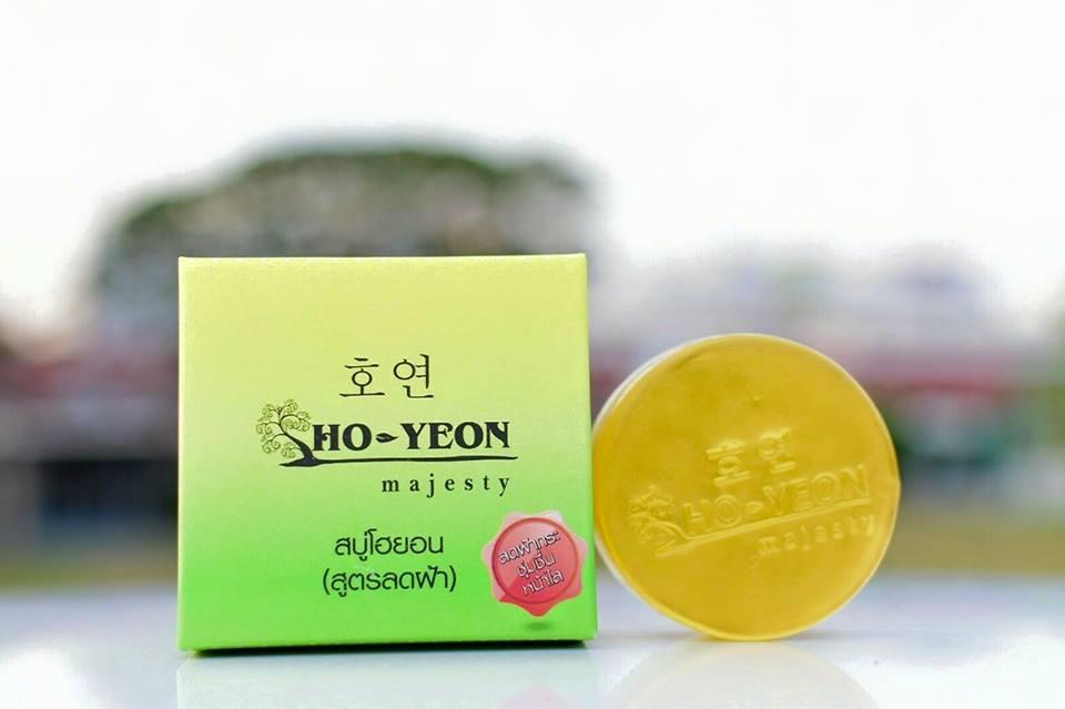 Ho-Yeon Anti Melasma สบู่โฮยอน สูตรลดฝ้า ขนาด 70 กรัม