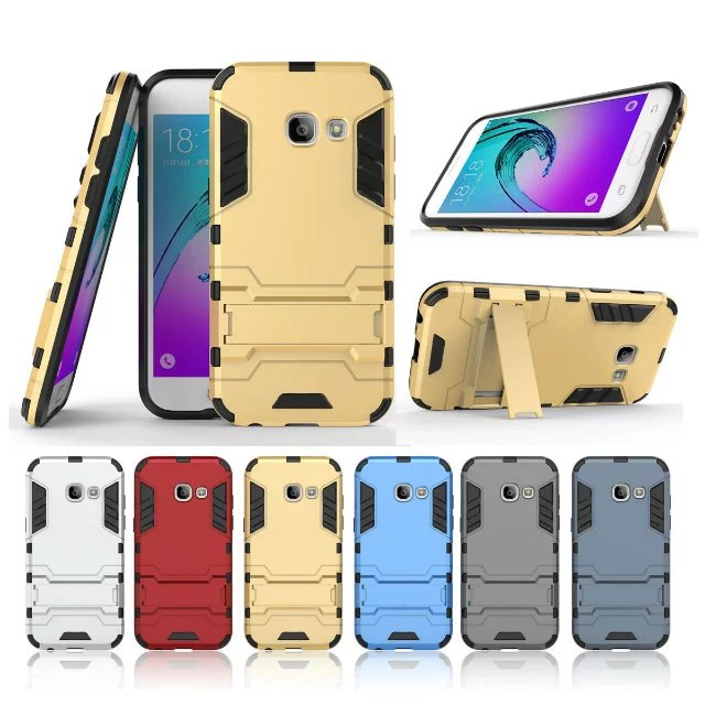 (529-001)เคสมือถือซัมซุง Case Samsung A5 (2017) เคสพลาสติกกันกระแทกสไตล์ Iron Man