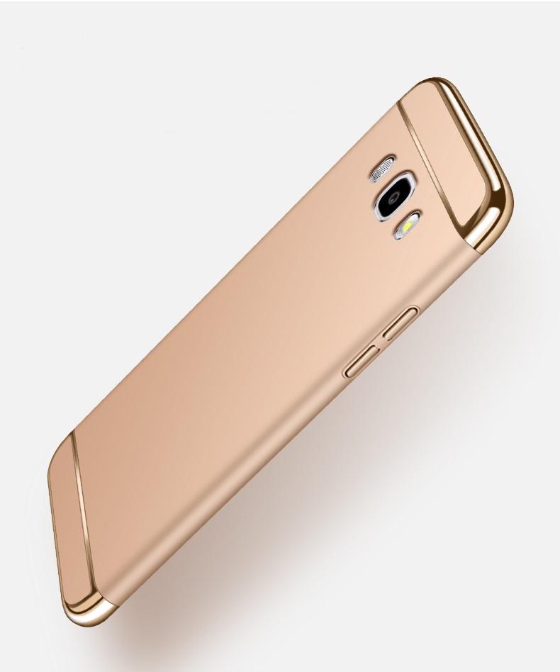 (025-1180)เคสมือถือซัมซุง Case Samsung Galaxy J5 2016 เคสพลาสติกขอบแววสไตล์แฟชั่นเรียบหรูสีสันสดใส