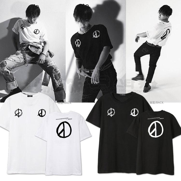 เสื้อยืด PEACEMINUSONE x AMBUSH Sty.G-Dragon -ระบุสี/ไซต์-