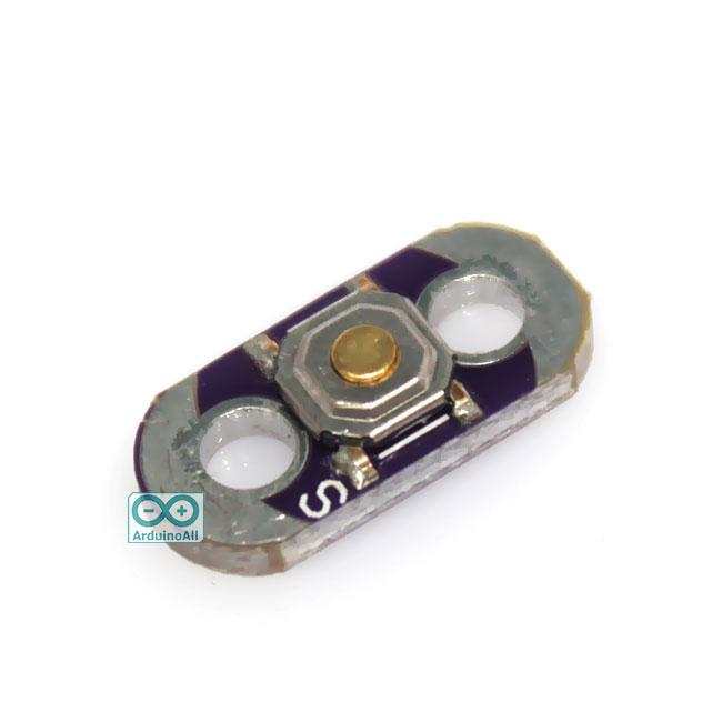 LilyPad Button Board button โมดูลสวิตช์กดติด/ปล่อยดับ