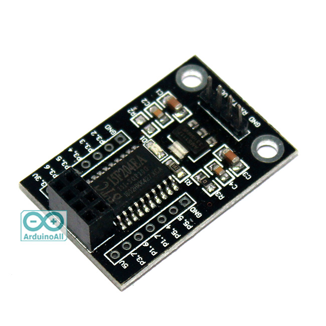 NRF24L01 SPI to UART STC15F204 โมดูลแปลง NRF24L01 ให้ติดต่อแบบ UART