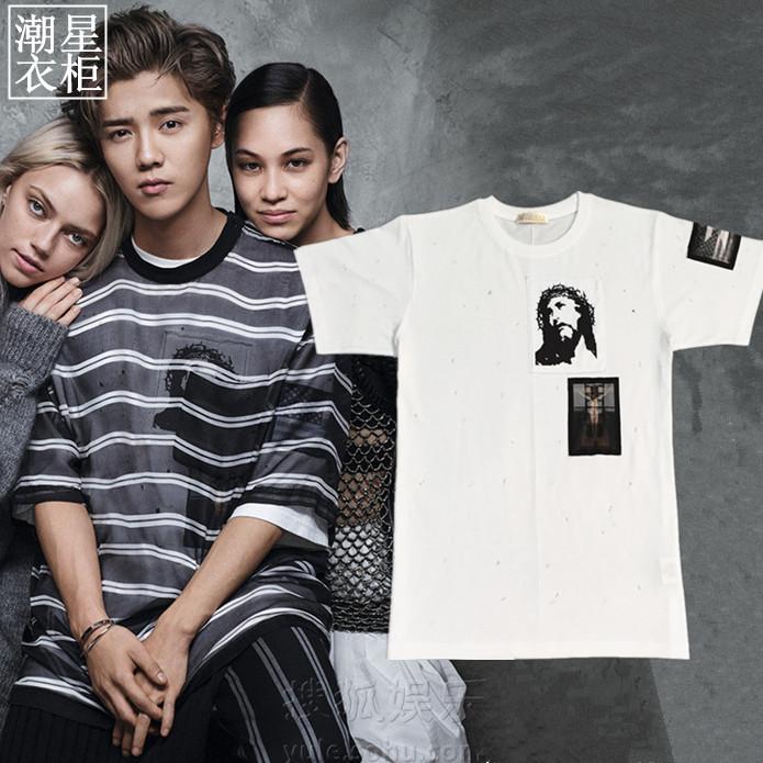 เสื้อยืด Grahpic 3D Sty.Luhan -ระบุไซต์-