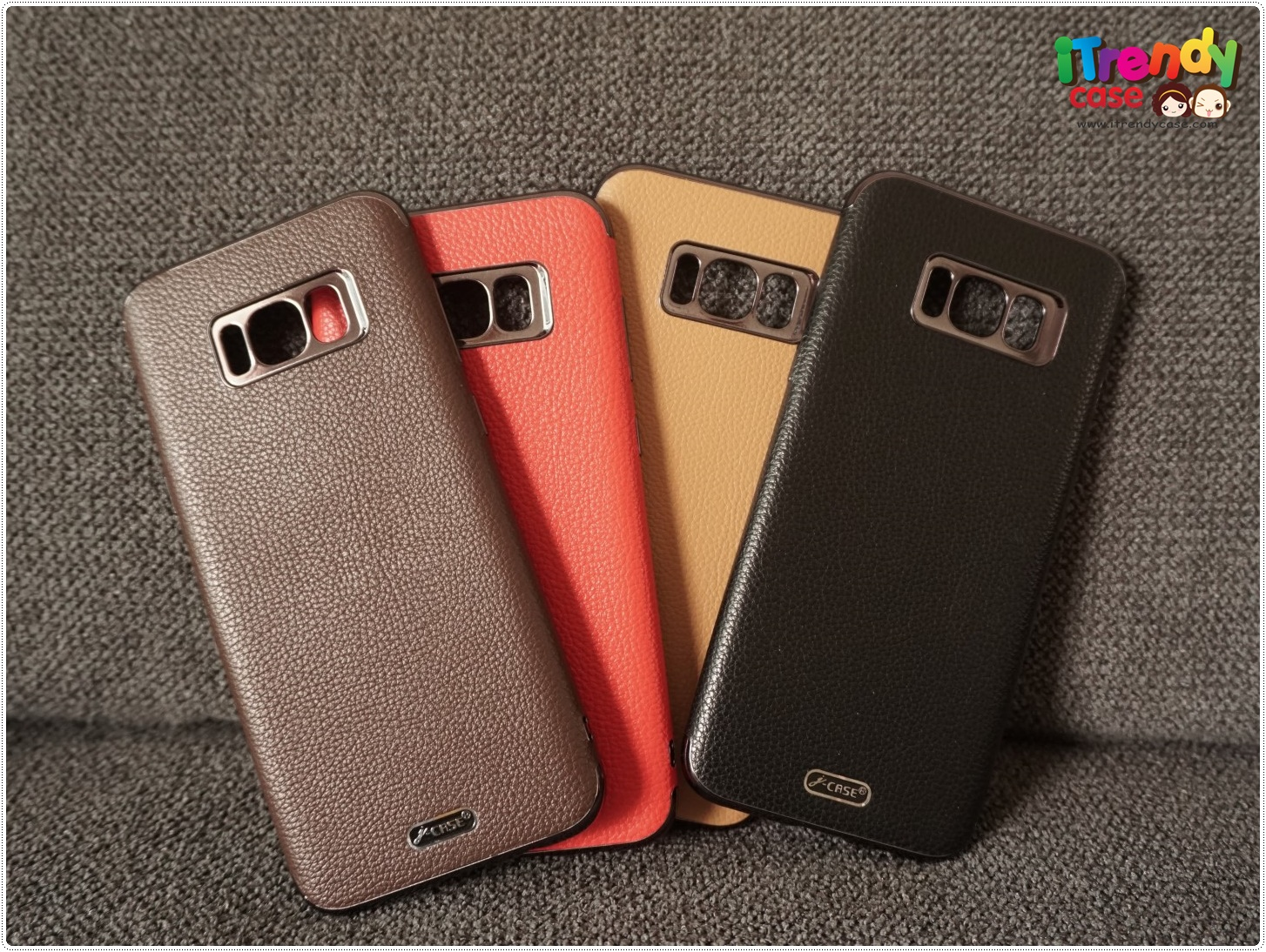 Samsung S8 - เคส TPU ลายหนัง J-CASE แท้