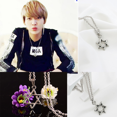 Necklace XL095 STAR KRIS