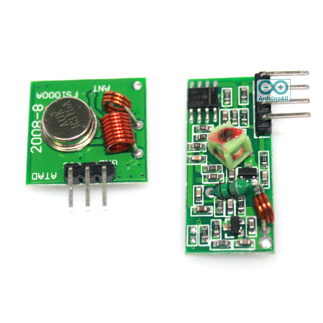 315Mhz Wireless RF Transmitter and Receiver Module