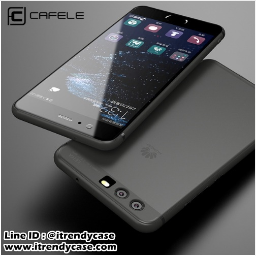 Huawei P10 Plus - เคส TPU ขุ่น CAFELE แท้