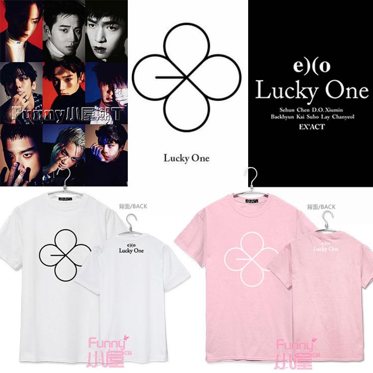 เสื้อยืด EXO EX'ACT Lucky One -ระบุสี/ไซต์-
