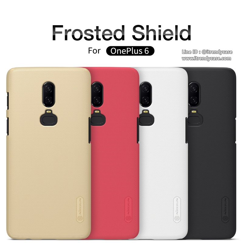 OnePlus 6 - เคสหลัง Nillkin Super Frosted Shield แท้