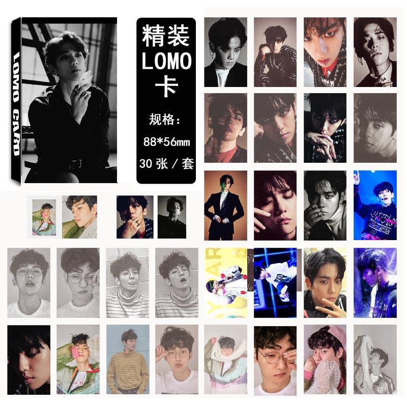Lomo card set EXO EX'ACT - Baekhyun (30pc)