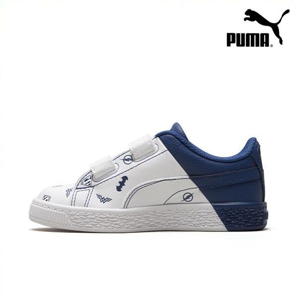 *Pre Order* PUMA Hummer children's color matching casual shoes JL Basket V 365148