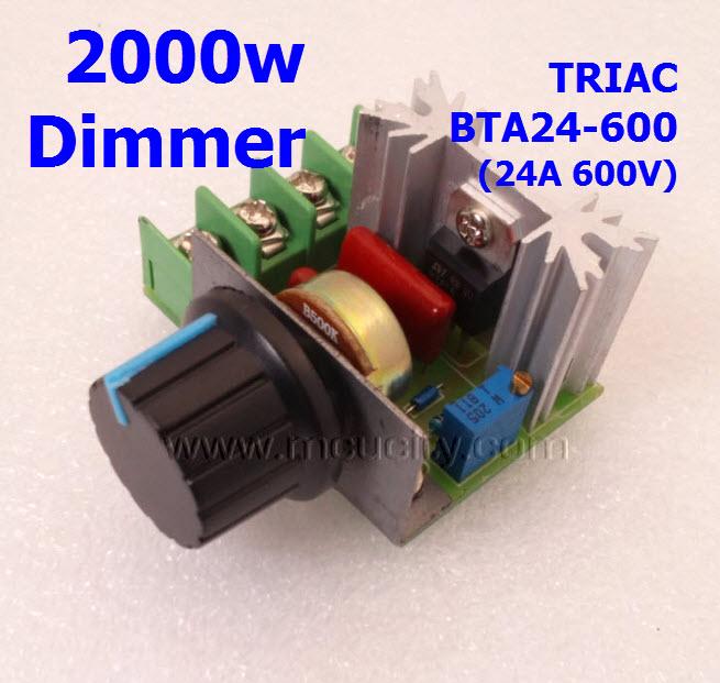 เครื่องหรี่ไฟ 2000W (Dimmers) (BAT24-600B)