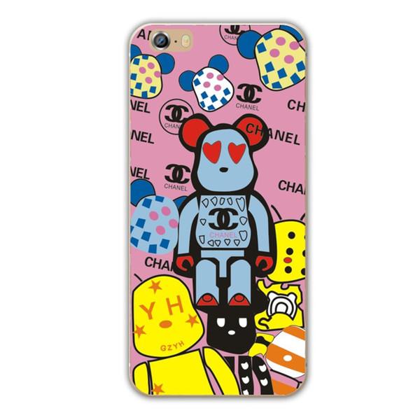 เคสไอโฟน 6 Plus / 6s Plus (TPU CASE) ลายหมี แบบ 5