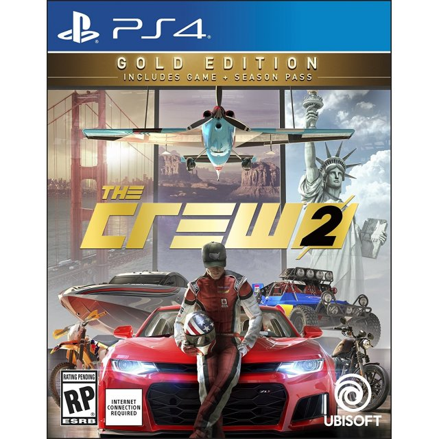 PS4: The Crew 2 Gold Edition (R3)