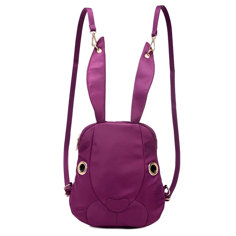 *Pre Order* Korean girl fashion กระเป๋าเป้แฟชั่นผ้าOxford-Nylon กันน้ำ 25x 26x 8 cm.