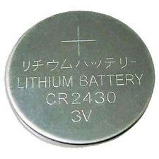 CR2430 3V Lithium Button Coin Battery for watches, toys,calculator etc.