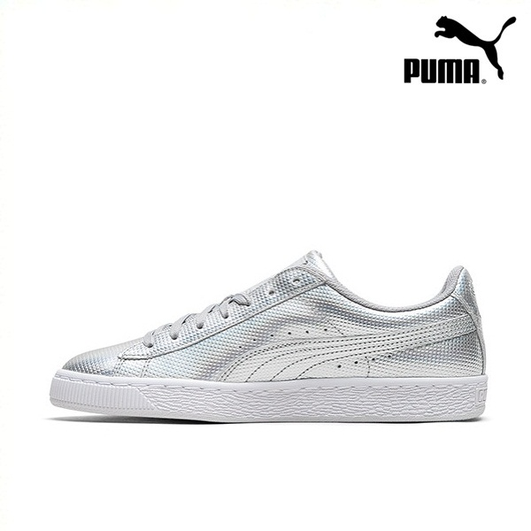 *Pre Order* PUMA Hummer men and women with the same paragraph glossy casual shoes Basic Classic 362860