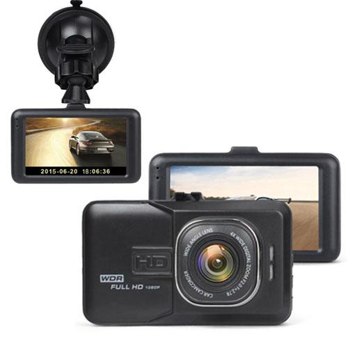 กล้องติดรถยนต์ หน้าจอกว้าง 3 นิ้ว รุ่น AM1000 สีดำ