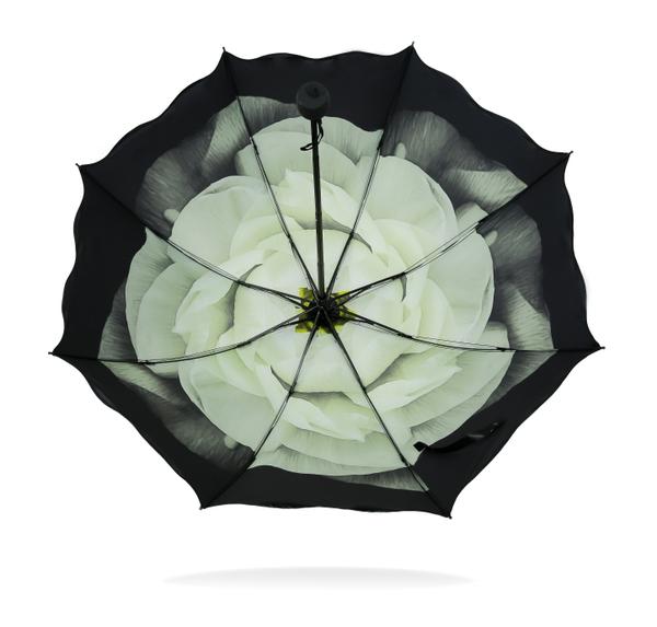 ร่มกันแสงแดดUV ร่มกันฝน 3พับ ยาว 24ซม. ลายดอกไม้ ด้านบนสีดำด้านล่างลายดอกไม้ มี 3แบบค่ะ