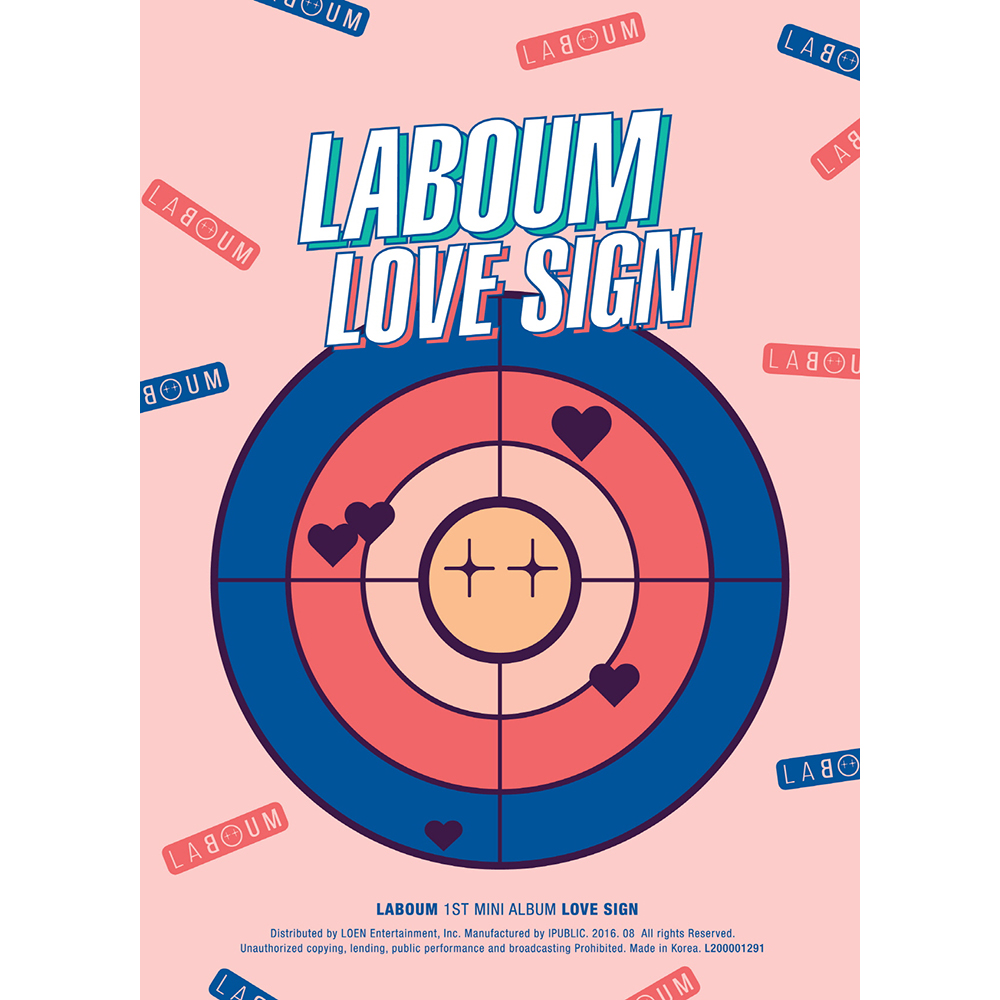 [Pre] Laboum : 1st Mini Album - LOVE SIGN +Poster