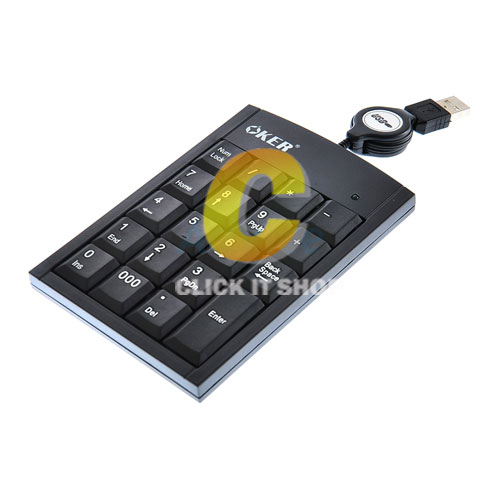 Numberic Keypad 2017 (Black) 'OKER'