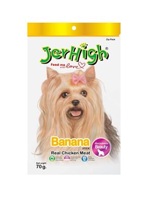 JH 7 ขนมสุนัข รสบานาน่า70ก.