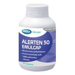 Alerten (30 เม็ด) โคเอนไซม์ คิวเทน 50 mg สารต้านอนุมูลอิสระ